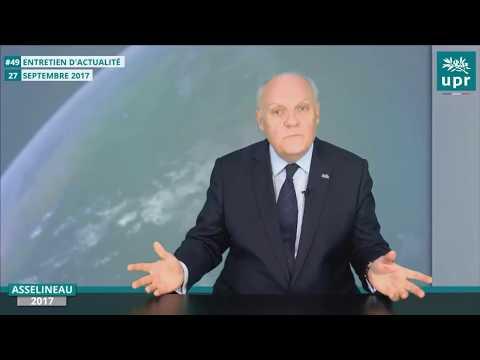 Ce que personne ne dira sur Alstom, Siemens et STX par asselineau 28/07/17