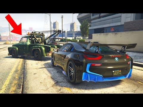 OMG mein Auto wird abgeschleppt! – GTA 5 Real Life Mod