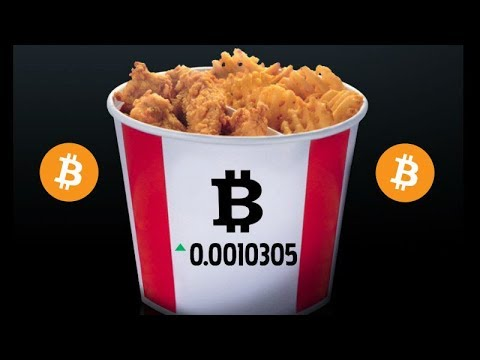 KFC Canada Accepts Bitcoin! Marketing Tactic but Great for Cryptocurrency Adoption!