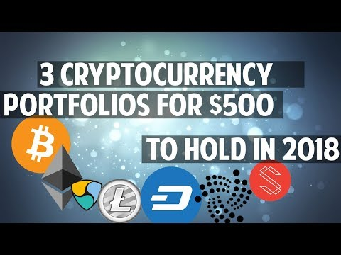 Three $500 cryptocurrency portfolios for 2018 (+ ETHEREUM GIVEAWAY)