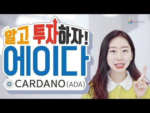 알고 투자하자 : 에이다 코인  (ADA) Cardano   [Block Info_블록인포]