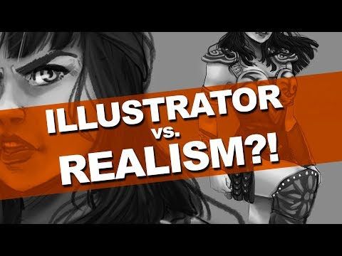 OMG! ATTEMPTING REALISM! | X is for Xena | DrawingWiffWaffles
