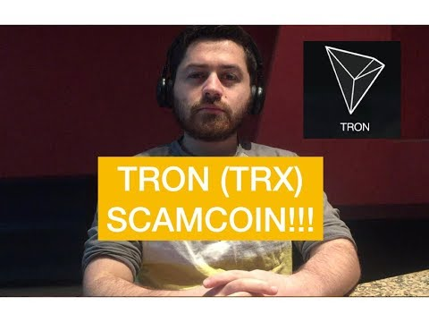 DON'T BUY TRON (TRX) CRYPTO! SCAM COIN!