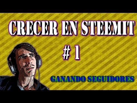 Steemit, ganar seguidores