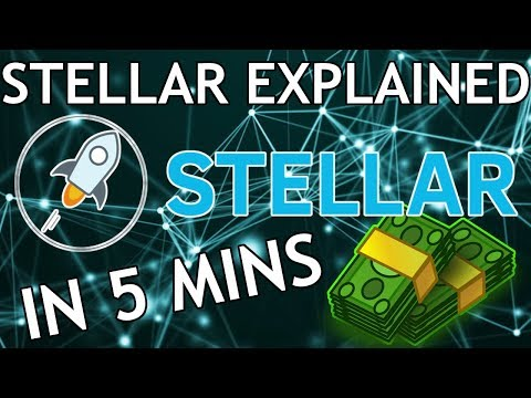 Stellar Lumens Explained in 5 Minutes! (Stellar – Move Money Across Borders Quick and Cheap)