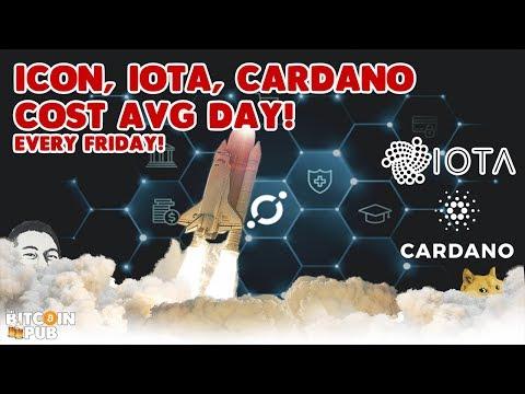 DCA Fridays – ICON [ICX], IOTA, CARDANO [ADA] – Incremental Gains!