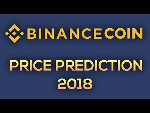 Binance Coin Price Prediction, Analysis, Forecast (2018)