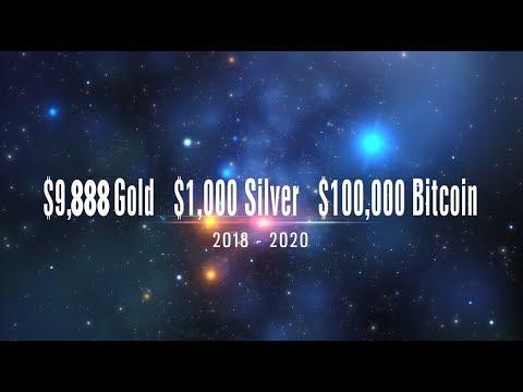 $9,888 Gold,  $1,000 Silver,  $100,000+ Bitcoin