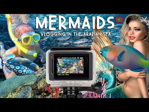 OMG! MERMAIDS! VLOGGING IN THE ARABIAN SEA! | Vlog #9
