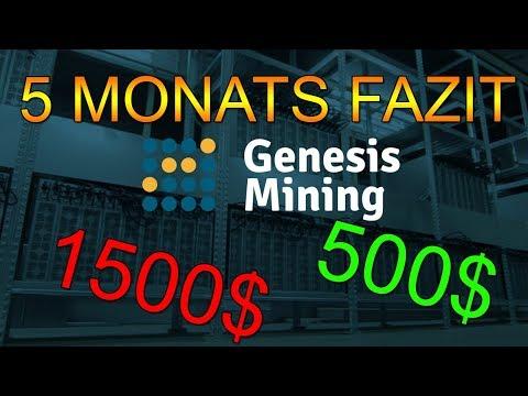 5 MONATE FAZIT | Genesis Mining | Bitcoin Mining #62 | German