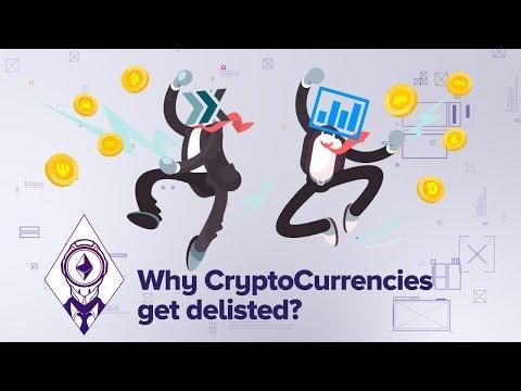 Why CryptoCurrencies get delisted? (TenX, BitShares, Digix, Monaco, ICONOMI)