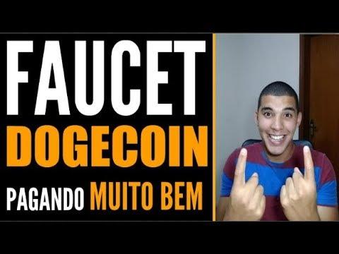 FAUCET DOGECOIN PAGANDO MUITO BEM