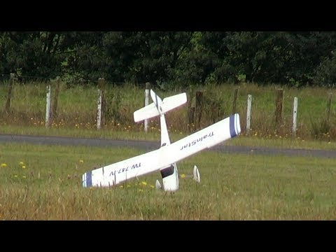 When RC planes fall from the sky (yes, there are crashes)