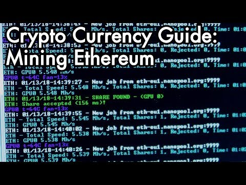 2018 Ethereum Mining Guide: Lets mine Crypto Currency with Claymore Miner!
