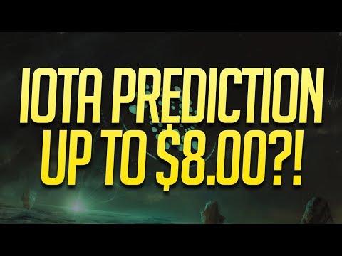 HUGE IOTA Coin Price Prediction To $8.00?! | IOTA Crypto Outlook 2018 | IOTA Forecast & Analysis