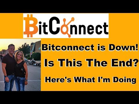 Bitconnect Is Down- Is This The End?