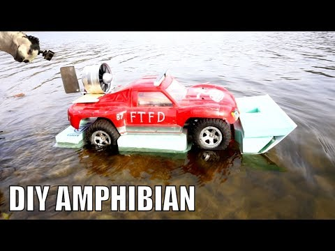 RC Amphibious Car Airboat