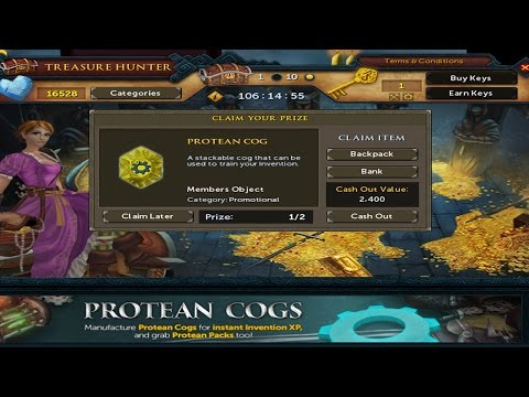 Runescape 3 – Protean Cogs! 120 Invention Experience Rates!
