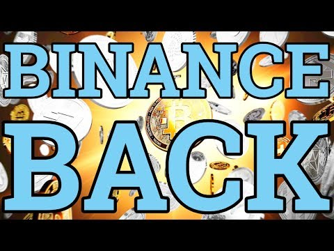 BINANCE IS BACK! WHERE TO BUY THE TOP ALTCOINS (IOTA, TRON, VERGE, LISK, CARDANO, MONERO)! TUTORIAL