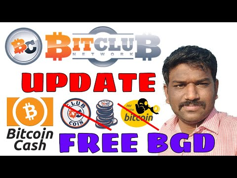 Bitcoin Gold Free-BCH payment-Bitclub Network Update in Tamil