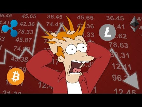 Why the Cryptocurrency Market is Down right now – January Bear Market Down Trend