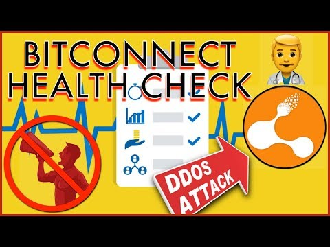BITCONNECT HEALTH CHECK – Site Under DDoS Attack – US State's Issue C&D – Promoters Ordered To Stop?