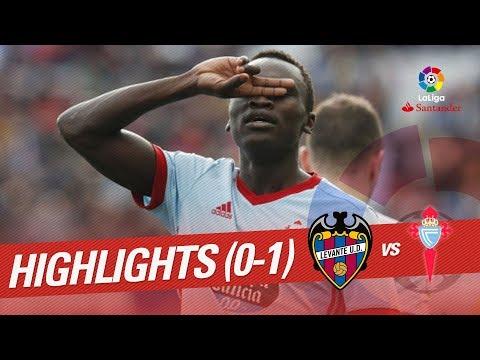 Resumen de Levante UD vs RC Celta (0-1)