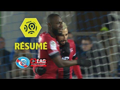 RC Strasbourg Alsace – EA Guingamp (0-2)  – Résumé – (RCSA – EAG) / 2017-18