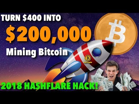 Bitcoin Mining | How to Turn $400 into $200,000