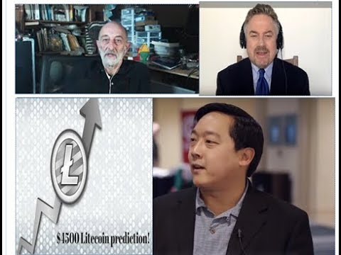 Bullish Litecoin Forecast  (2018-2020) by Charlie Lee and Clif High