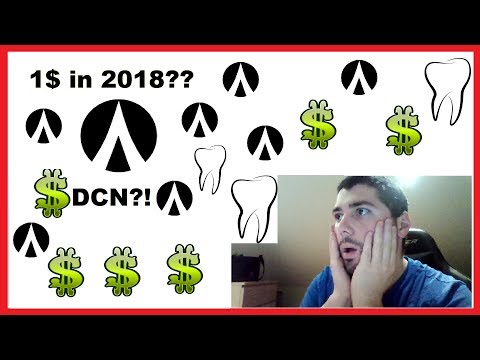 DENTACOIN 1$ IN 2018??? ANALYSE ! | BCN GIVEAWAY!