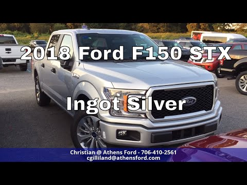 2018 Ford F150 STX – Ingot Silver – Quick Walk Around