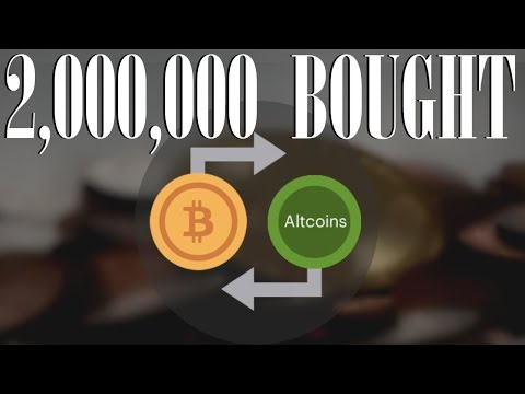 I Bought 2,000,000 Altcoins | Cryptocurrency Market Madness