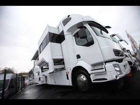 Camping-car STX VOLVO poids-lourd garage voiture