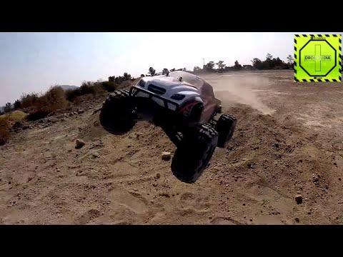Monster Truck de RC increíble tracción en las 4 ruedas ZD Racing Thunder ZMT-10! |DRONEPEDIA