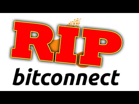 Bitconnect is GONE