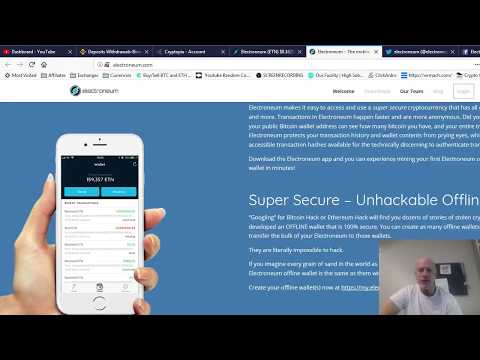 ELECTRONEUM.com (ETN) .016 to $5 Cryptocurrency Review