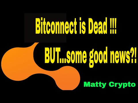 The Day BITCONNECT Died, BUT I have some Good News!