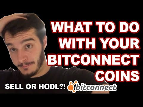 What to do with your BitConnect Coins (After EXIT SCAM)