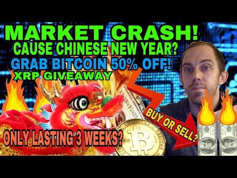 EVIDENCE THE MARKET WILL REBOUND BACK – CRYPTOCURRENCY MARKET CRASH – 3 WEEKS TIME LEFT?