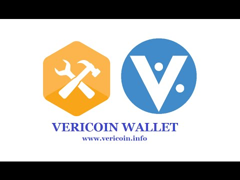How to download, install, backup,encrypt & start using a Vericoin wallet.  (1.5.2)