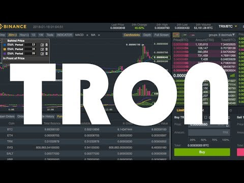 """1,500,000 TRON """"TRX"""" Trading Update 