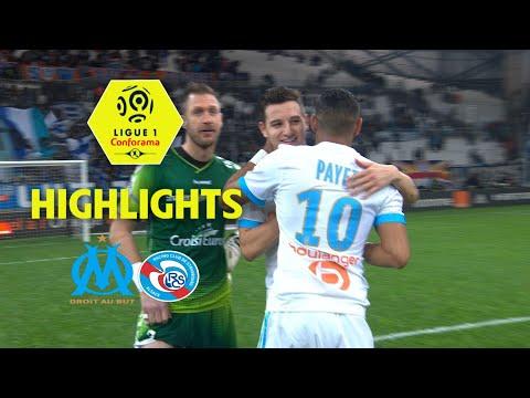 Olympique de Marseille – RC Strasbourg Alsace (2-0) – Highlights – (OM – RCSA) / 2017-18