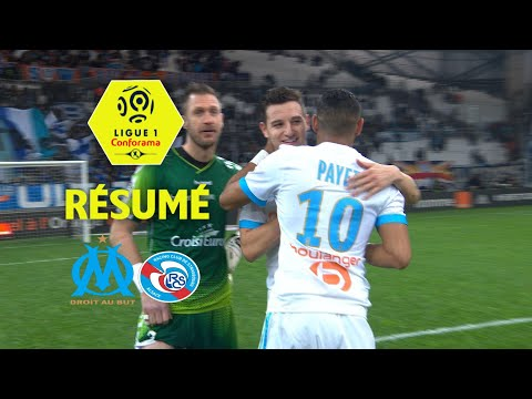 Olympique de Marseille – RC Strasbourg Alsace (2-0)  – Résumé – (OM – RCSA) / 2017-18