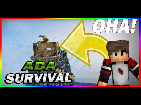 GÖKSELİN EVİNİ SU BASTI ! – Ada Survival #4