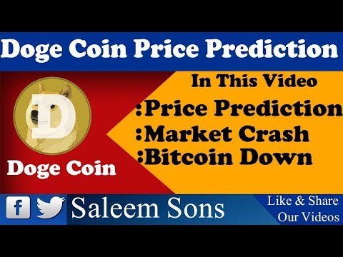 Doge Coin Price Prediction 2018 By Saleem Sons