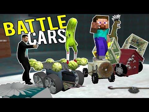 RC BATTLE CAR BUILDING CHALLENGE! Building the ULTIMATE Battlebot! – Gmod Garry's Mod Multiplayer