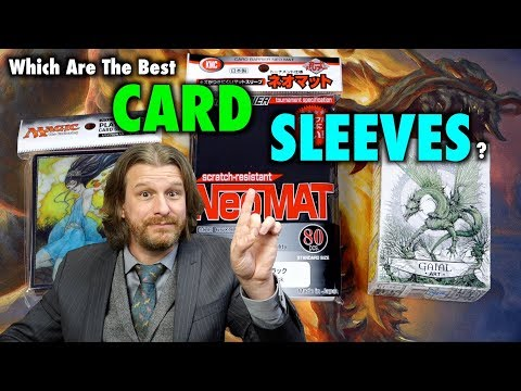 Card Sleeves Reviewed: DragonShield Art Matte, KMC Neo, Enksy for Magic: The Gathering, Pokemon TCG