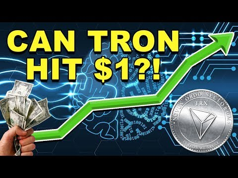 Will Tron Hit $1? – How High Could TRX Go? – Should You Buy Tron? – CryptoCurrency News
