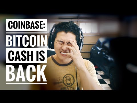 Coinbase Reinstates Bitcoin Cash [BCH] with Little Fanfare – Will It Survive 2018?